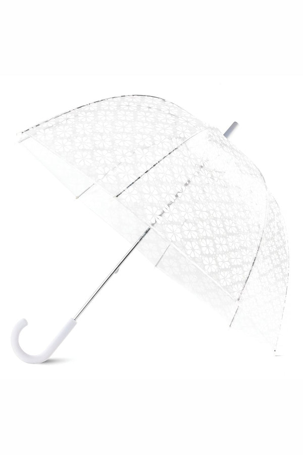 Kate Spade Umbrella - White Flower