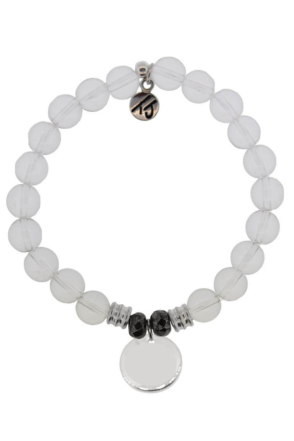 TJ Beaded Bracelet Exclusive - Crystal Stone