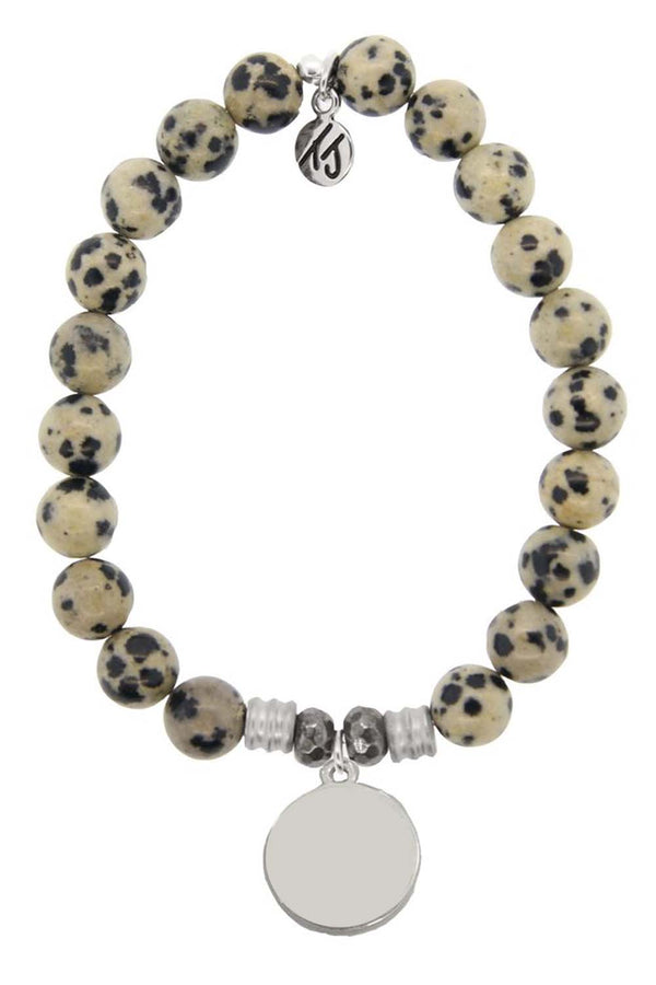 TJ Beaded Bracelet Exclusive - Dalmation Jasper Stone