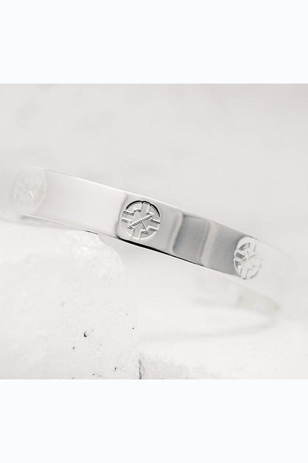Pieces of Me Cuff Bracelet - Silver