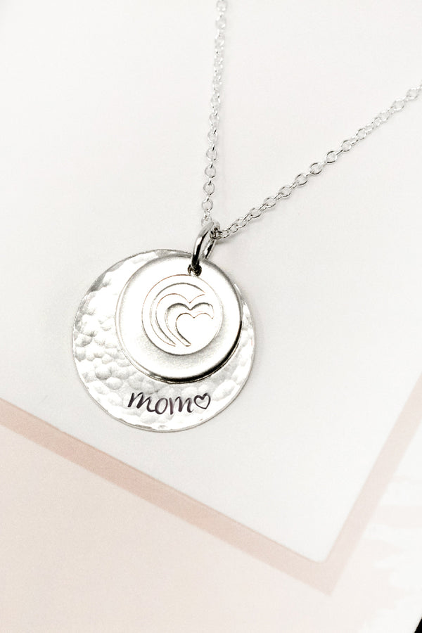 Encouraging Mom Necklace Set