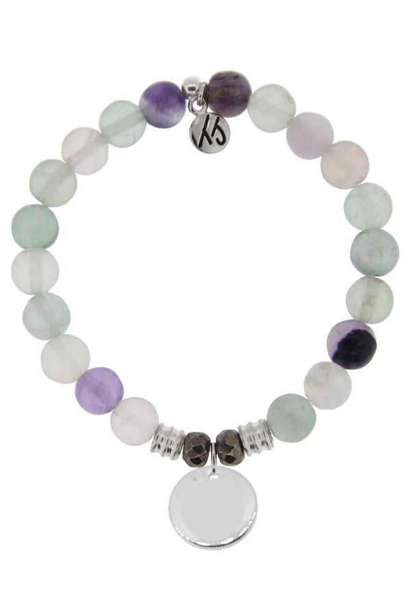 TJ Beaded Bracelet Exclusive - Fluorite Stone