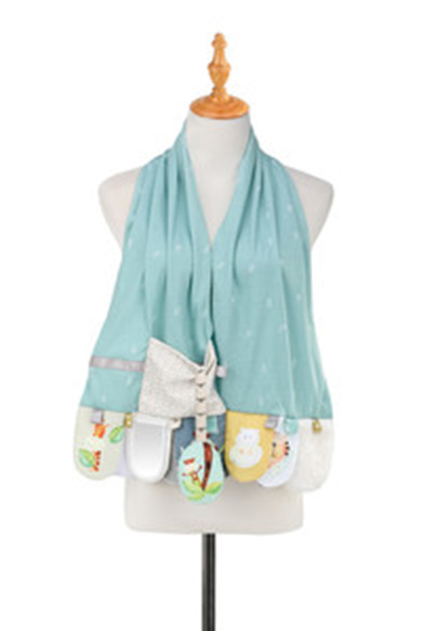 Mom & Baby Activity Scarf - Jungle