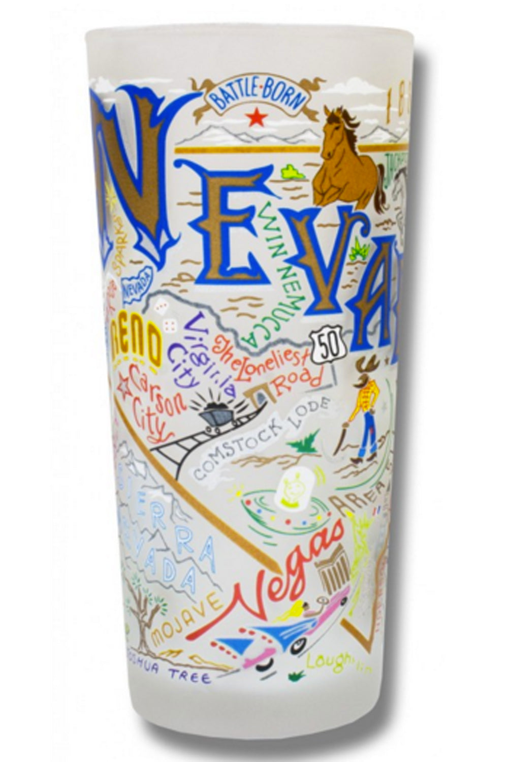 Frosted Nevada Tumbler Cup