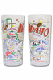 CS Frosted Glass Tumbler Cup - Idaho