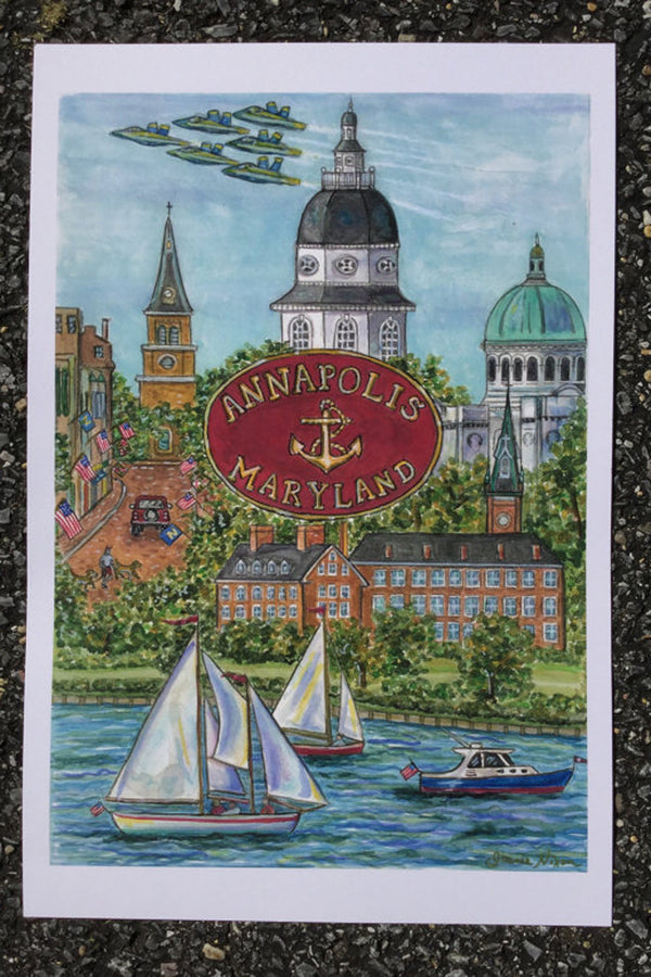 Unframed Collage - New Annapolis
