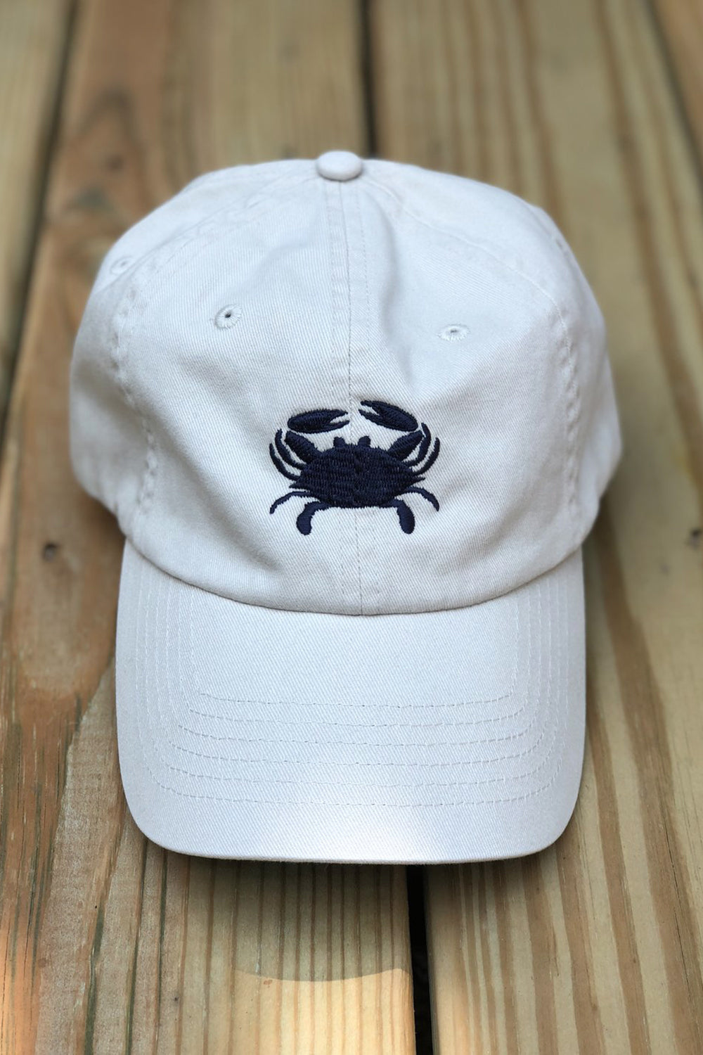 Adjustable Hat - Crab Almond & Navy