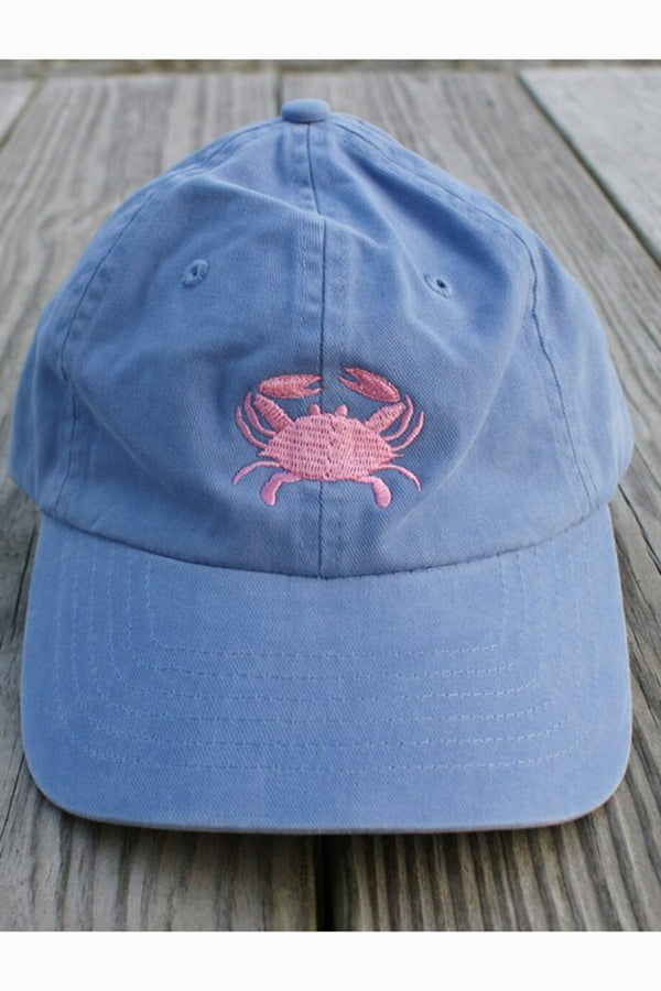 Adjustable Hat - Crab Grape & Hot Pink