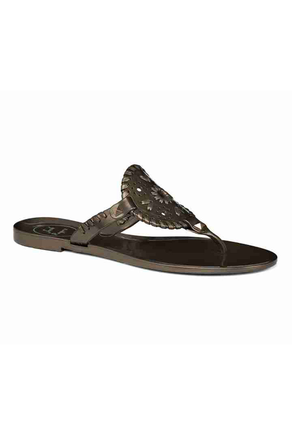 Georgica Jelly Sandal - Bronze