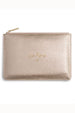 Perfect Pouch - Metallic Gold