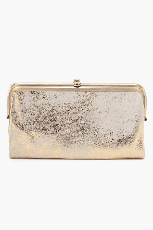 Lauren Wallet - Distressed Gold
