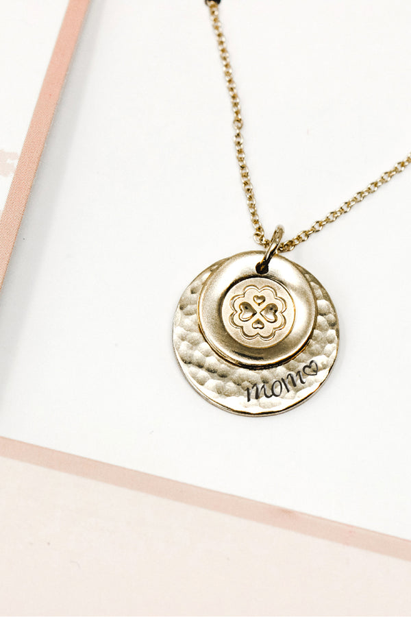 Loving Mom Necklace Set