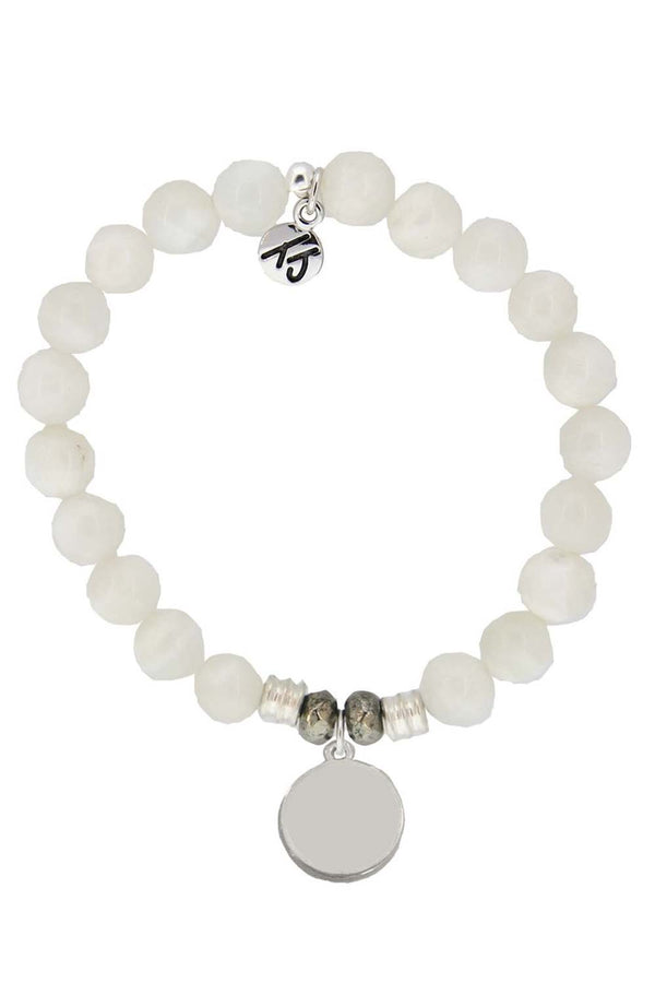 TJ Beaded Bracelet Exclusive - Moonstone Stone