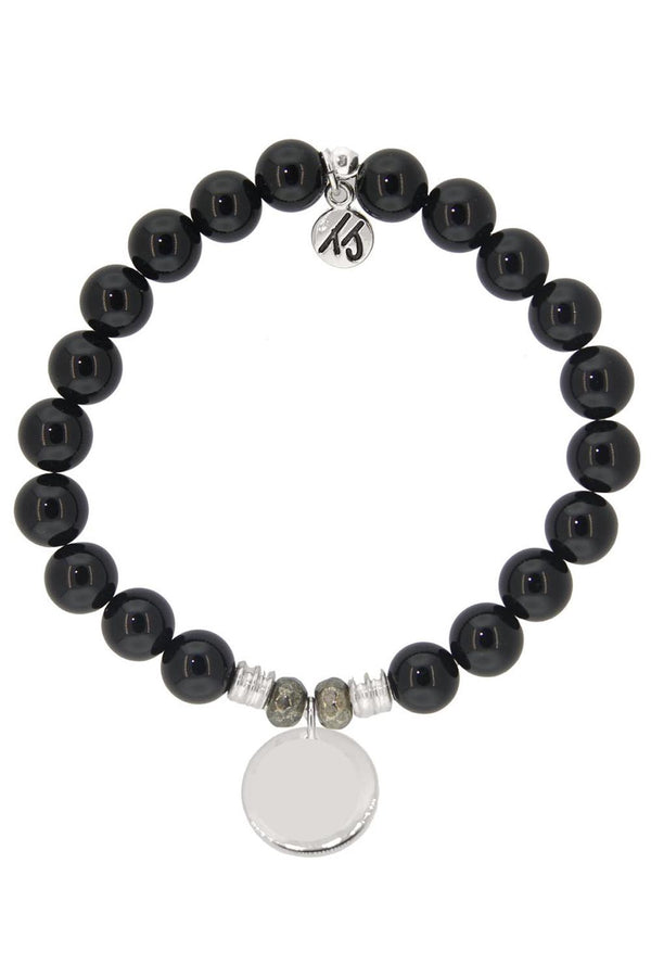 TJ Beaded Bracelet Exclusive - Onyx Stone