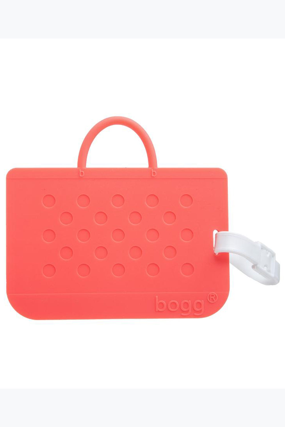 Bogg Bag Luggage Tag - Coral