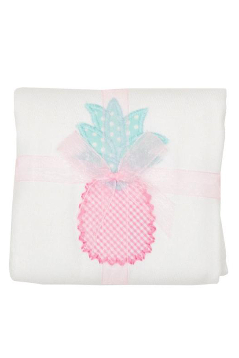 Applique Burp Pad - Pineapple