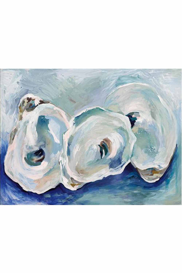 Kim Hovell Matted Print - Point Oysters