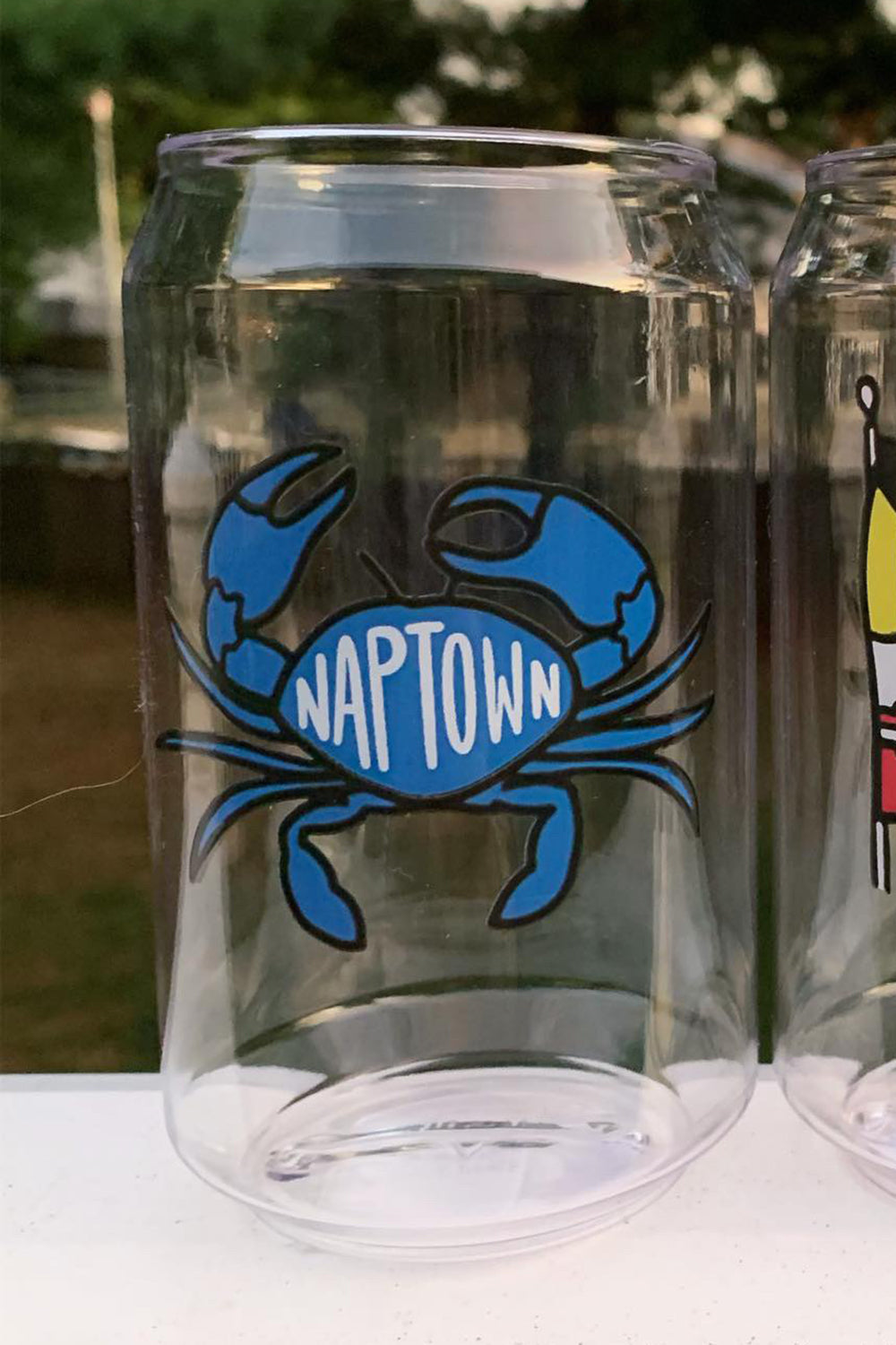The Perfect Can Cup - Crab Blue Naptown