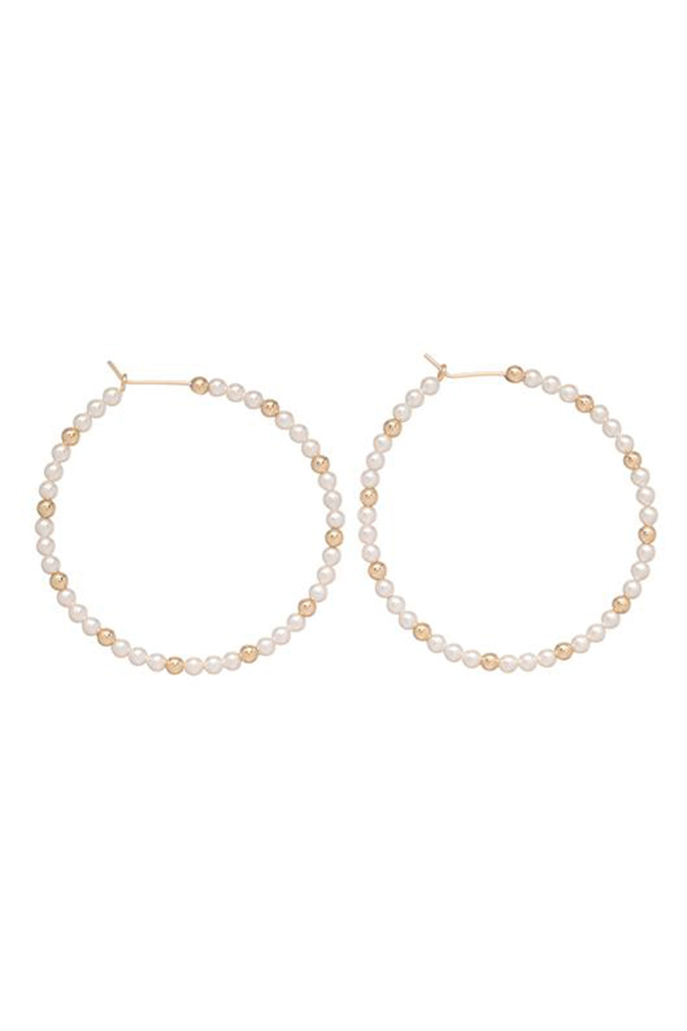 EN Sincerity Hoop Earring - Pearl