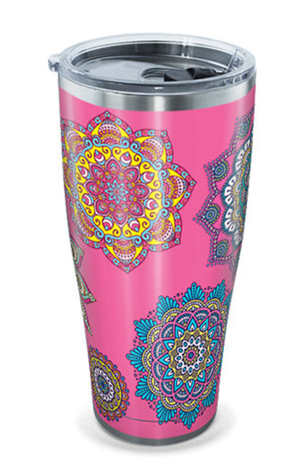 Stainless Steel Wrap Tumbler - Colorful Mandalas