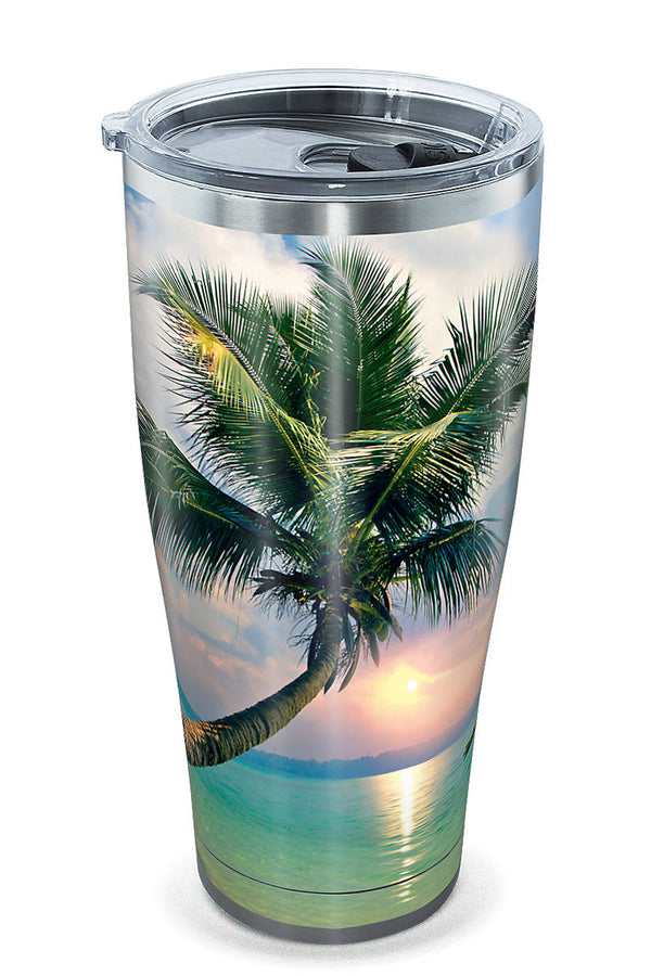 Stainless Steel Wrap Tumbler - Sunset in Paradise