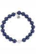 TJ Beaded Bracelet - Navy Pearl Stacker