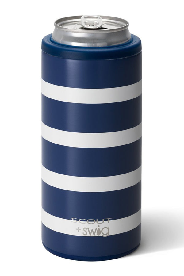 Skinny Can Cooler SCOUT - Nantucket Navy