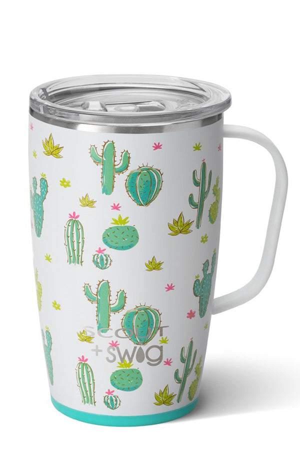 Modern Coffee Mug SCOUT - Cactus Makes Perfect
