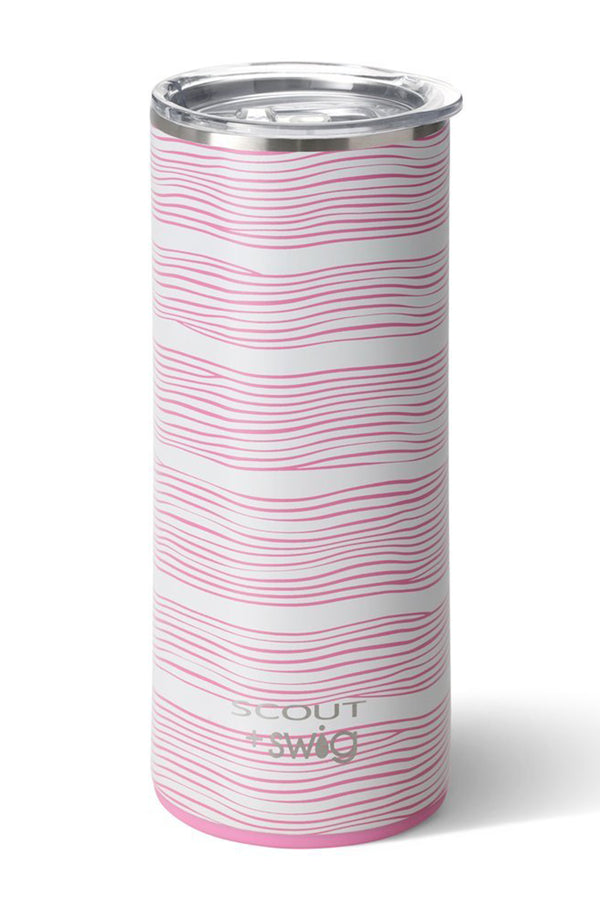 Swig Straight Tumbler SCOUT - Wavy Love