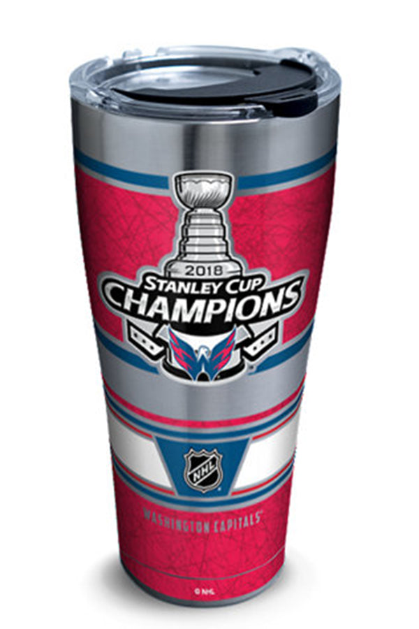 Stainless Steel Wrap Tumbler - Stanley Cup Champions Capitals