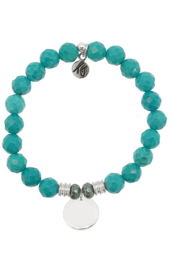 TJ Beaded Bracelet Exclusive - Turquoise Stone