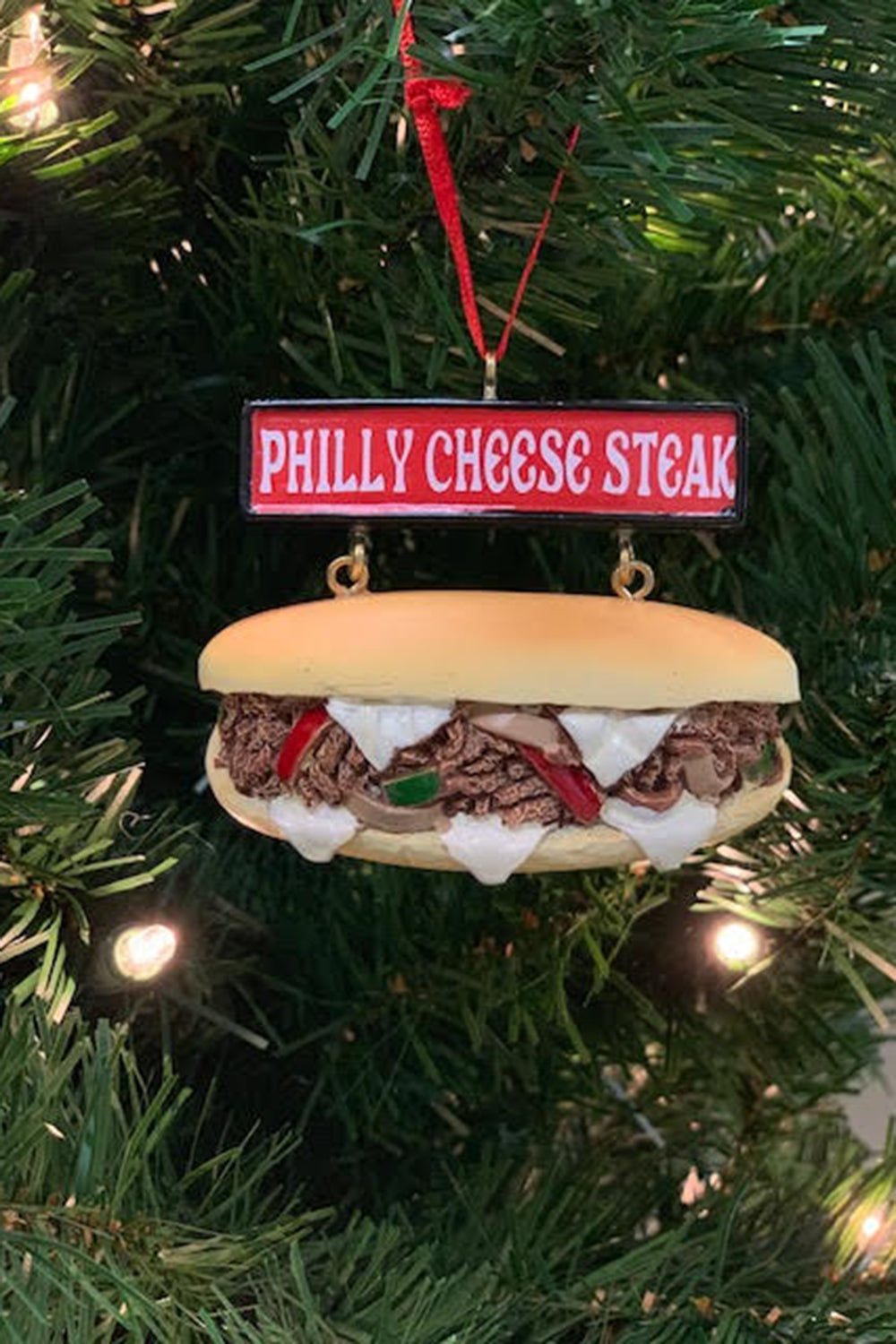 Funky Ornament - Philly Cheesesteak Ornament