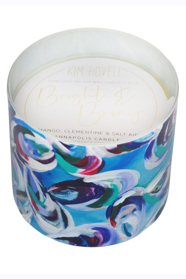 Kim Hovell + Annapolis Candle - 3 Wick Bright & Briny
