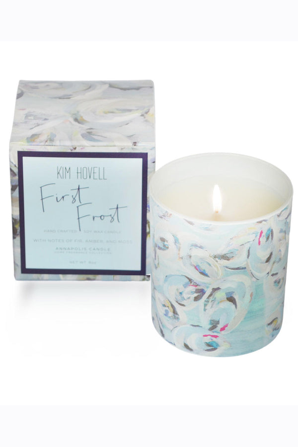 Kim Hovell + Annapolis Candle - Boxed First Frost