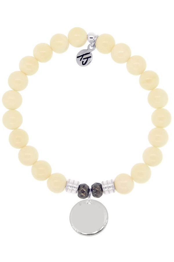 TJ Beaded Bracelet Exclusive - Wild Fossil Stone