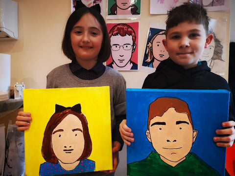Julian Opie inspired Family Art Workshop 30/06/2019 at 11am