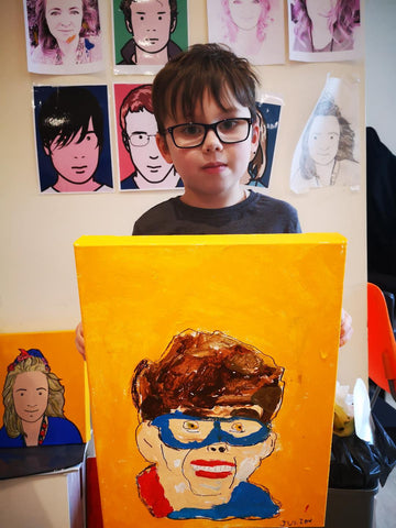 Julian Opie inspired Family Art Workshop 15/06/2019 at 1pm