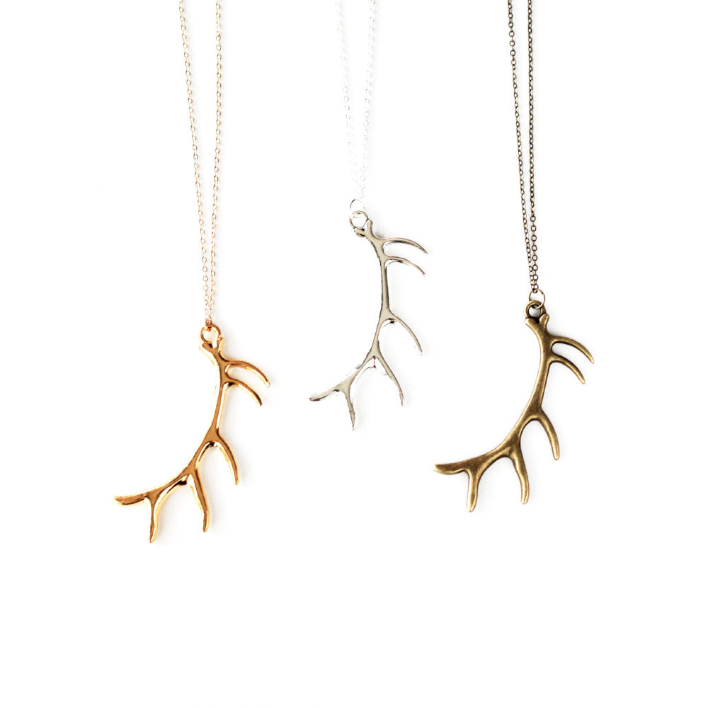 Elk Antler Necklace