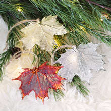 Red Maple Leaf Ornament