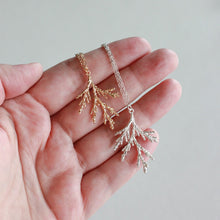 Juniper Branch Necklace