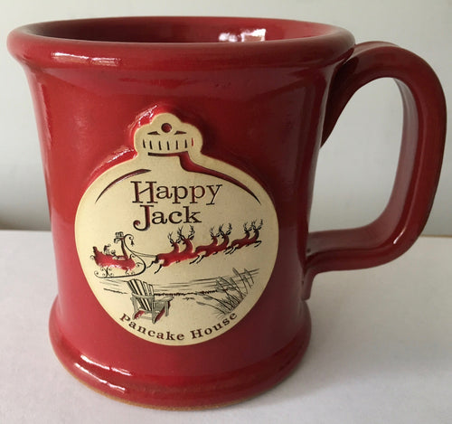 Christmas Happy Jack Coffee Mug - Stoneware