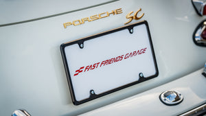 CNC Machined Aluminum License Plate Frame
