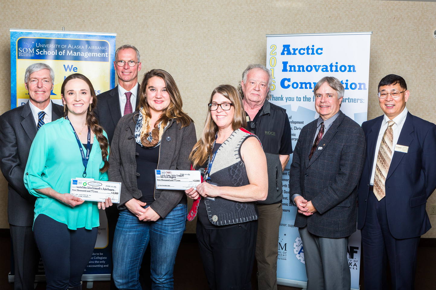 Third place in the Arctic Innovation Competition