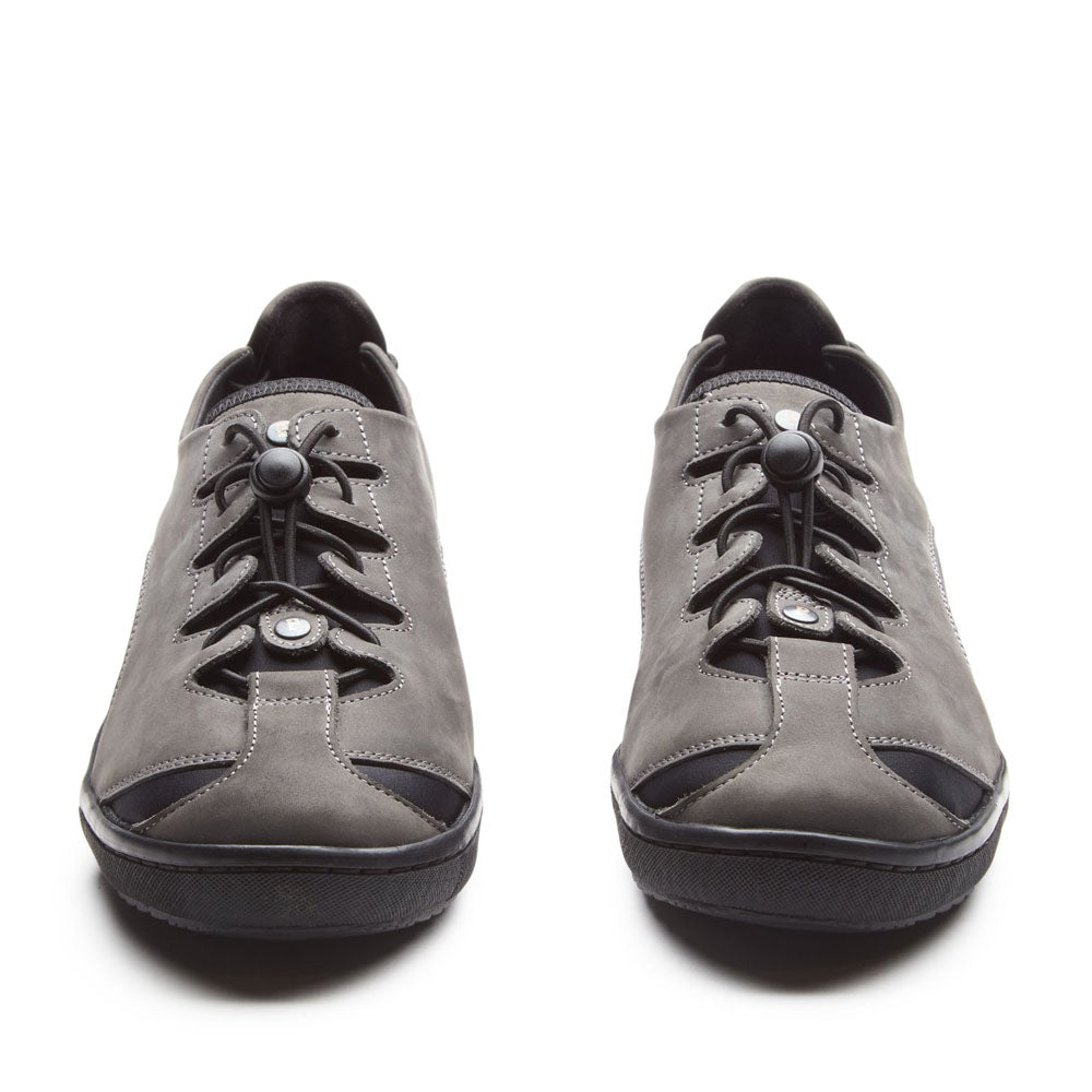 Grey Pandere Barista Shoe | Womens Shoes For Swollen Feet | 2