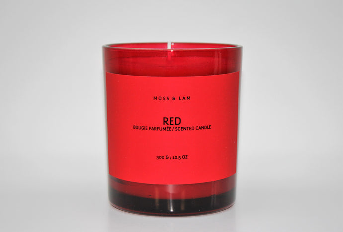 Scented Candles - RED