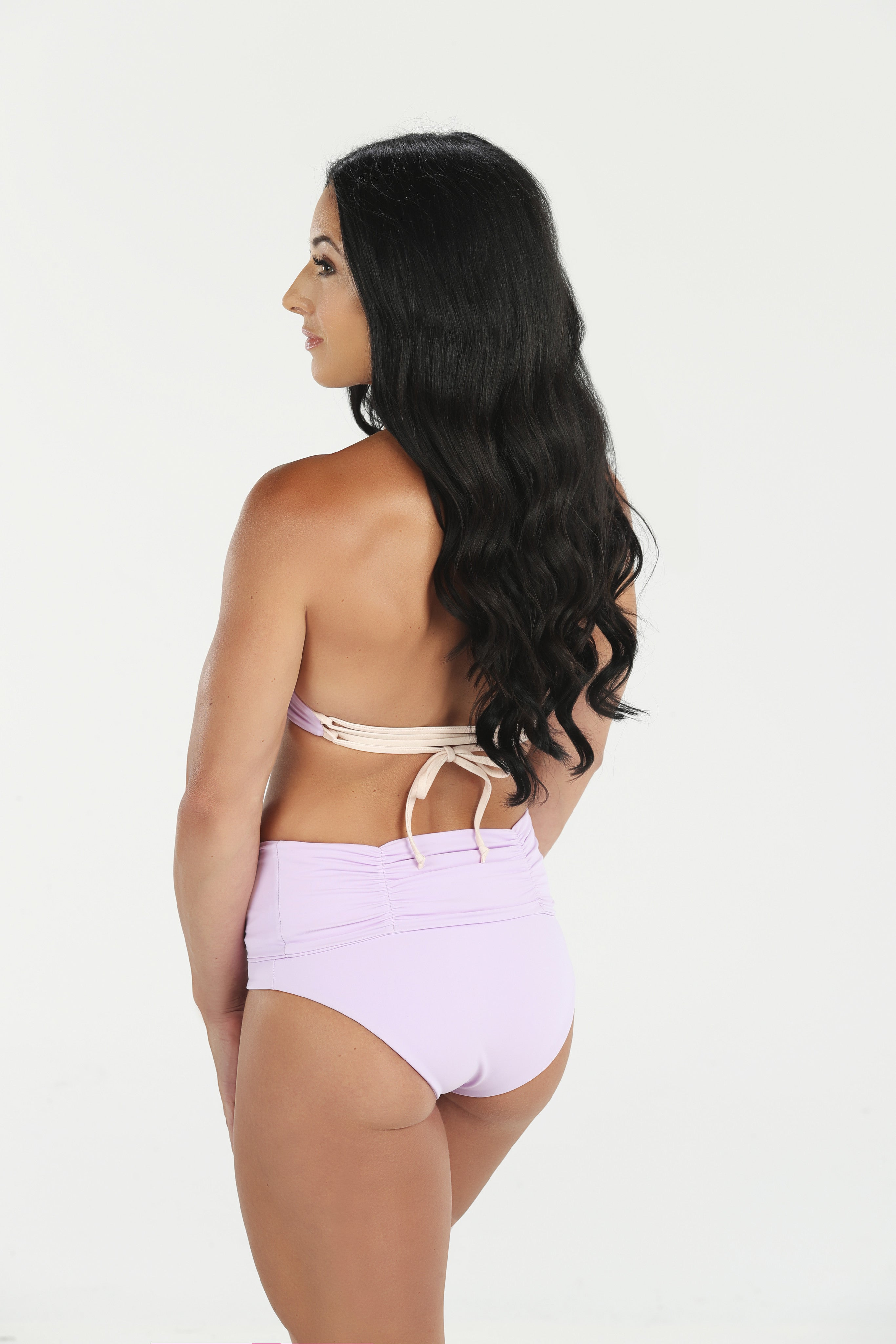 Luminous Sol Swimwear Fold Down waist Bottoms