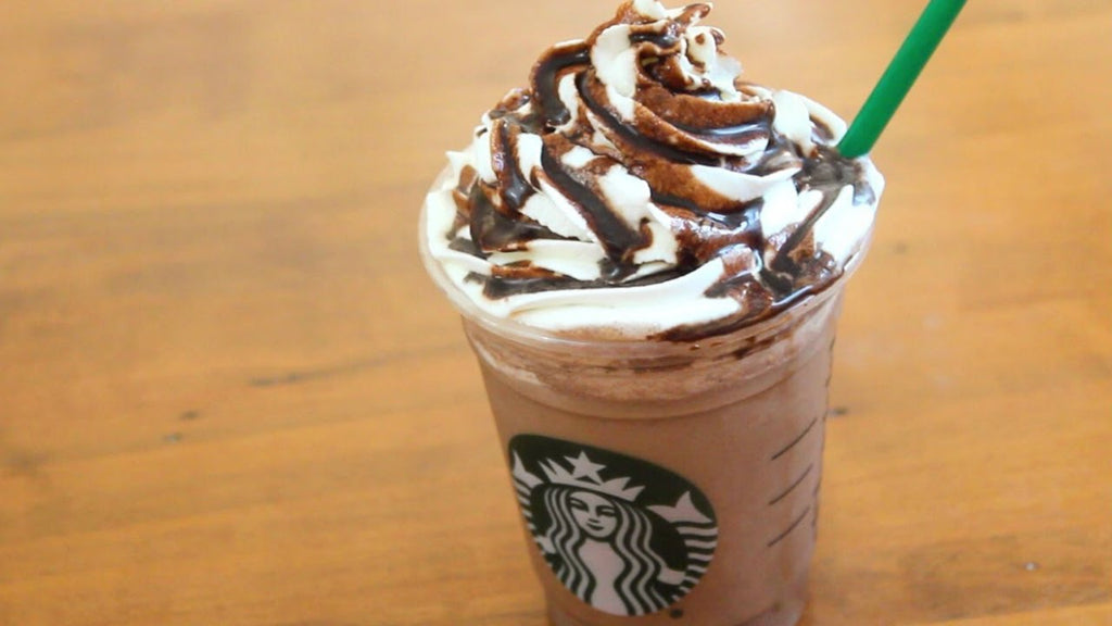 A copy of the big coffee chain's Java Chip Frappucino!