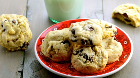 Just because I love you, try the World's Best Chocolate Chip Cookies!