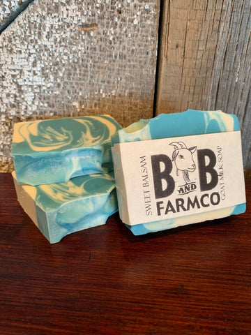 Sweet Balsam Goat Milk Soap - Bronco Western Supply Co.