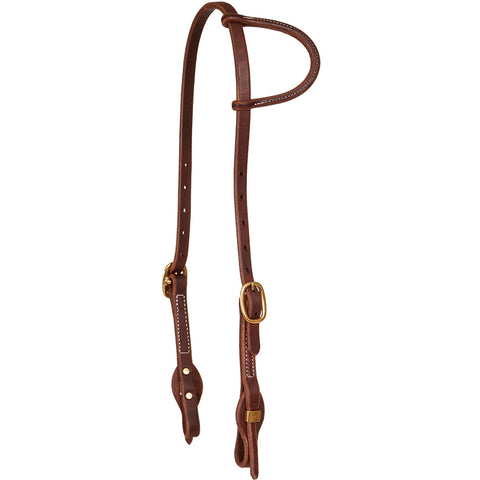 Foreman Series Quick Change Slip Ear Headstall Oxbow Tack - Bronco Western Supply Co.